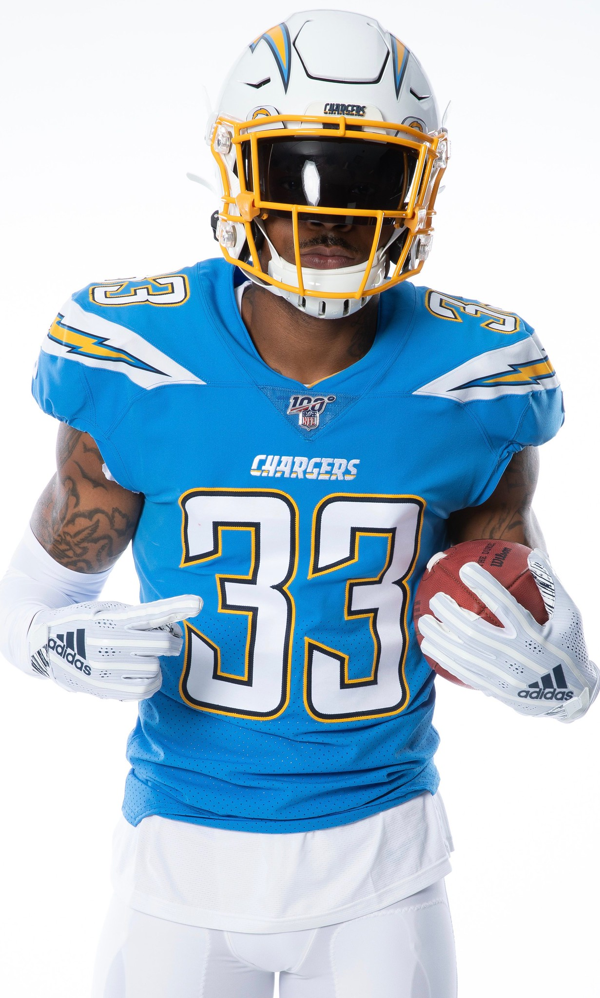 59b18ae4d5c Bolt from the Blue  Chargers Make Powder Blues Primary Uni for 2019