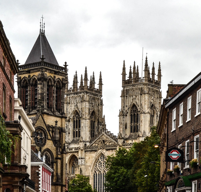 One last view of the Minster
