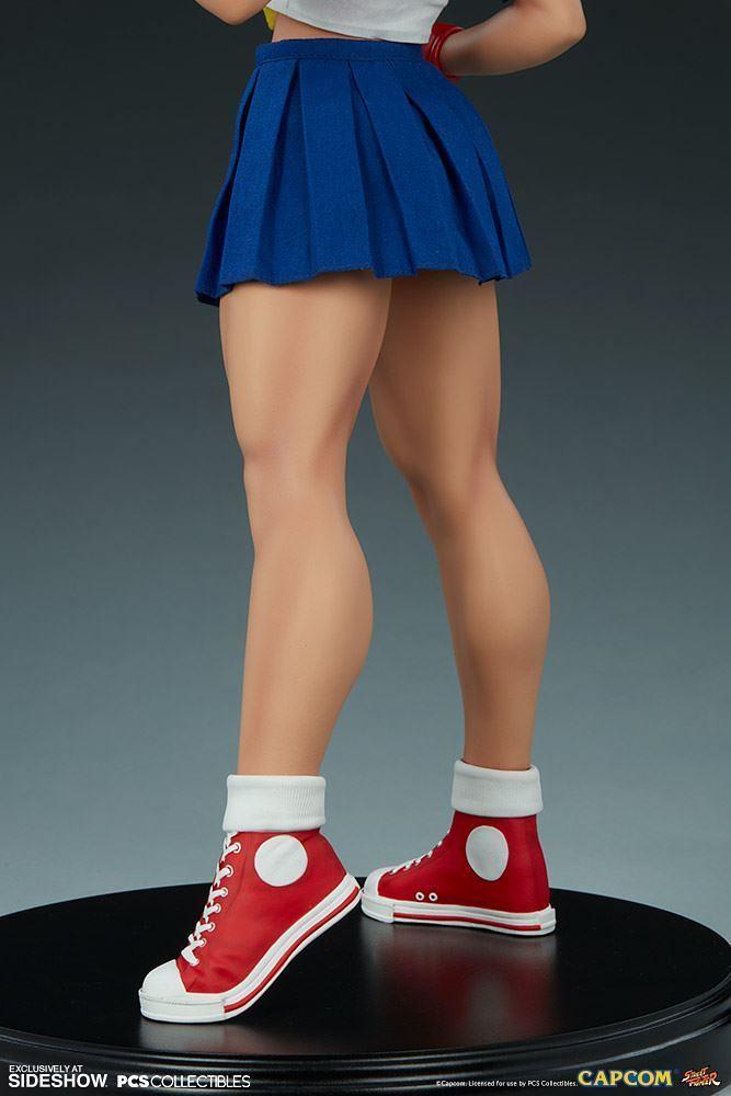 Pop Culture Shock《快打旋風》春日野 櫻 經典版 Sakura Classic 1/4 比例全身雕像 普通版/EX版