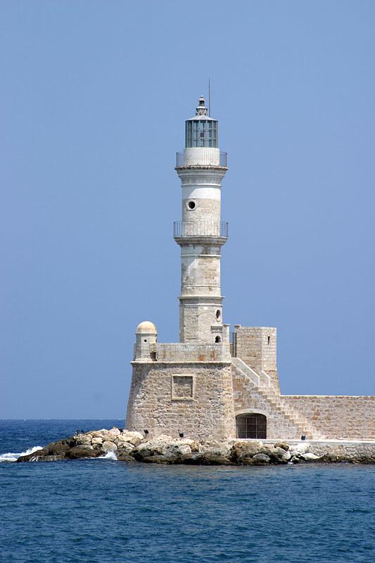 Hania lighthouse, Crete