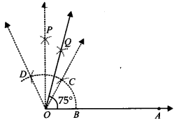 NCERT Solutions for Class 9 Maths Chapter 11 Constructions Ex 11.1 q4