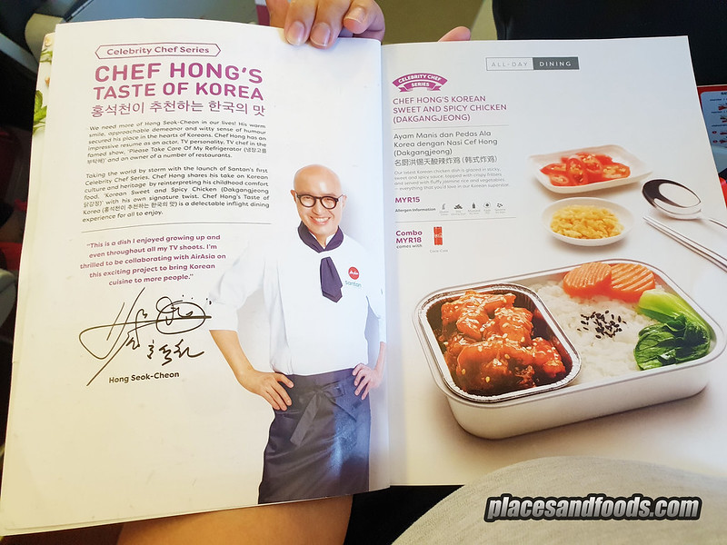 airasia santan menu chef hong