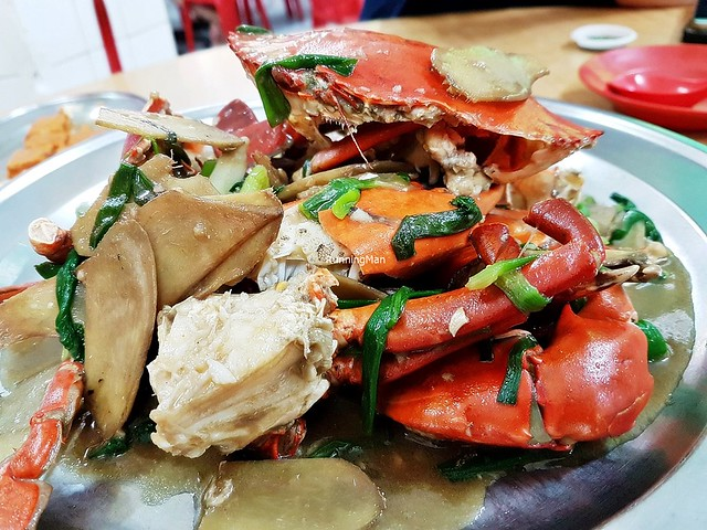 Ginger & Spring Onion Crab
