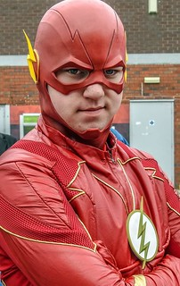 The Flash Cosplay.