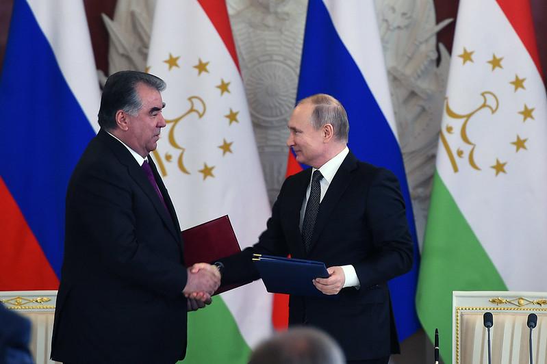 Между Республикой Таджикистан и Российской Федерацией подписаны новые документы о сотрудничестве