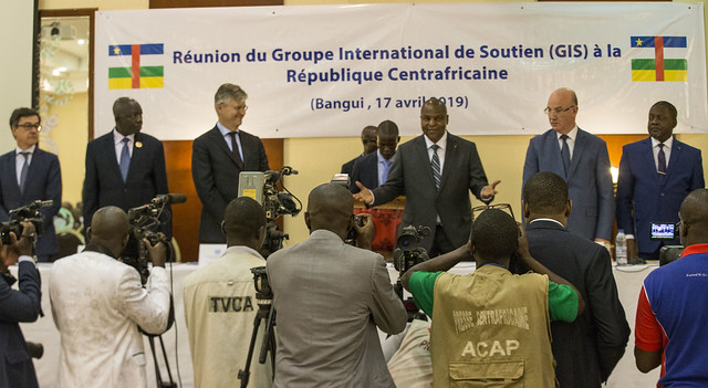 Réunion du Groupe International de soutien à la Centrafrique