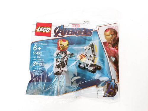 LEGO Marvel Super Heroes Avengers: Endgame Iron Man and Dum-E (30452)