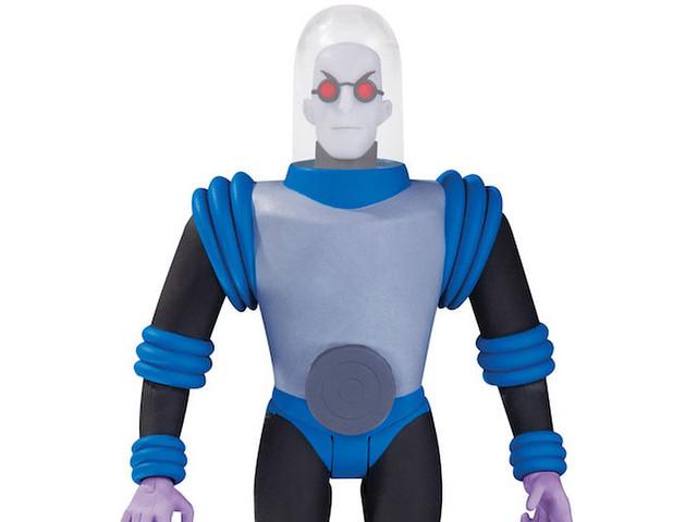 「如果我還有眼淚的話,我也會哭泣的」 DC Collectibles《蝙蝠俠:動畫系列》急凍人 Batman: The Animated Series Mr. Freeze 6吋可動人偶作品