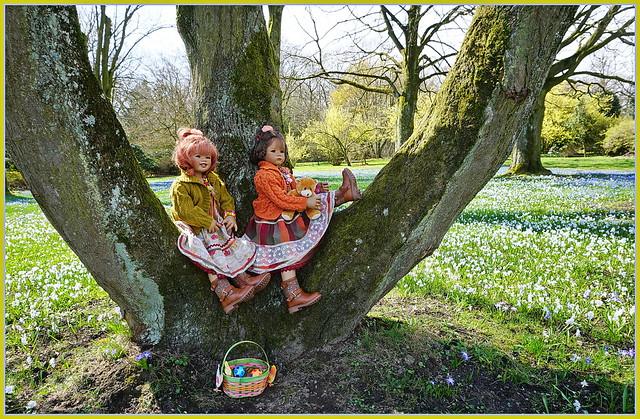 💚💙 Besuch auf der Frühlingswiese 💙💚