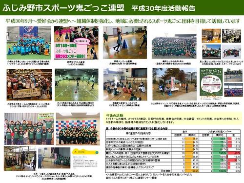 190307【PPT】2018ふじみ野市スポーツ鬼ごっこ連盟活動報告(金子)
