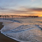 18. Aprill 2019 - 6:25 - Sunrise at the Avon, NC pier