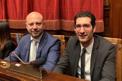 Gianpaolo Cassese e Giuseppe L'Abbate