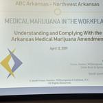 NWA Medical Marijuana Laws Lunch & Learn 2019