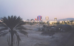Las Vegas in Background