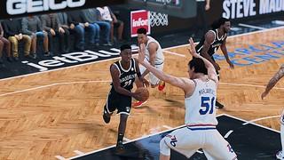 Philadelphia Sixers vs. Brooklyn Nets   by s t i c k y - f i n g e r s