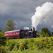 LNWR Coal Tank running ahead of a storm by Iand49