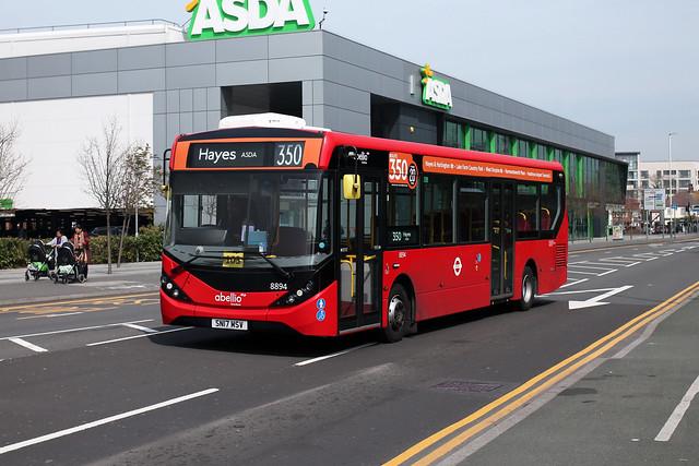 Route 350, Abellio London, 8894, SN17MSV