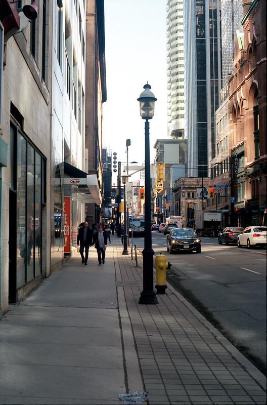 Yonge Looking Up to Richmond