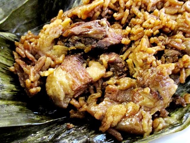 Cantonese dumpling, inside