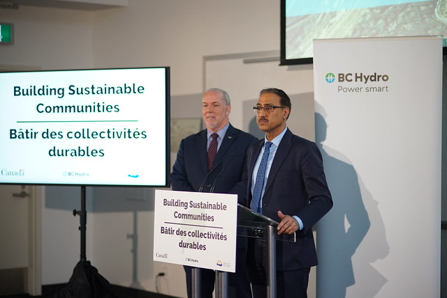 Canada and BC to bring clean energy to the Peace region