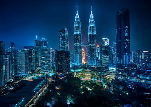 Kuala Lumpur from the Traders Hotel Bar