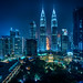Kuala Lumpur from the Traders Hotel Bar by Trey Ratcliff