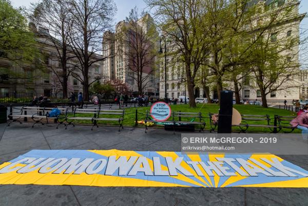 Stop the Williams pipeline rally and march