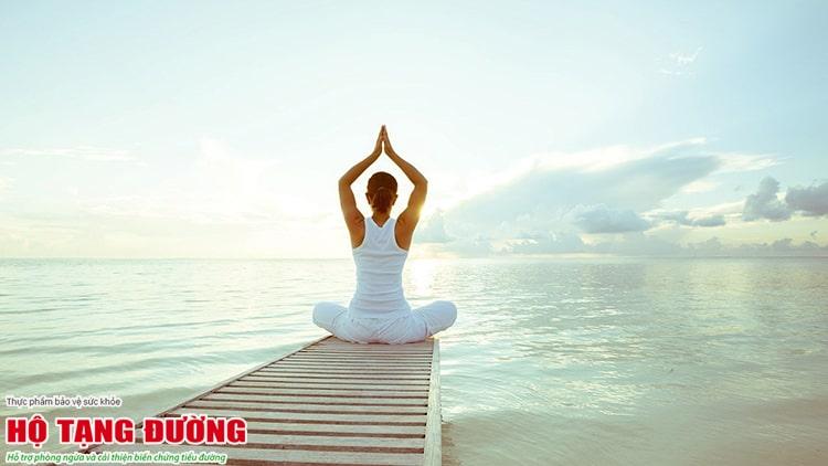Yoga tốt cho người tiểu đường.