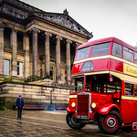 Ribble Bus on Preston's Flag Market