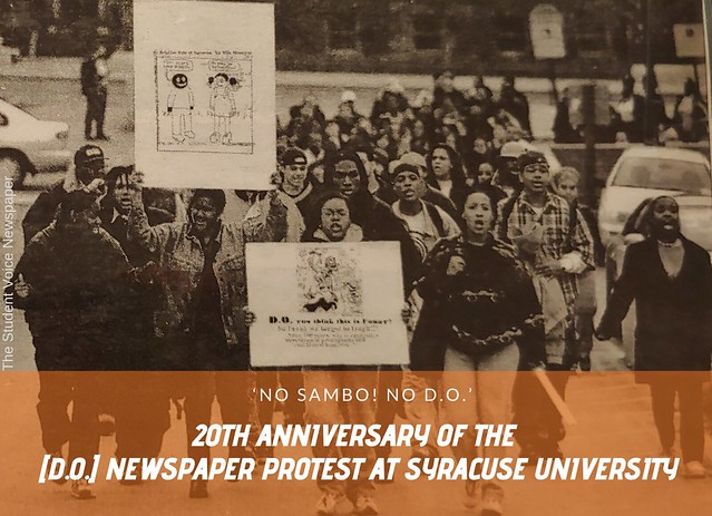 20th Anniversary of the [d.o.] Protest at Syracuse University