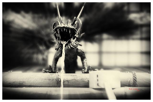 la fuente dragón