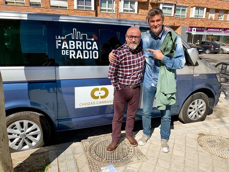 Foto Fernandisco La Fabrica de Radio Paco Cremades Todo ira Bien