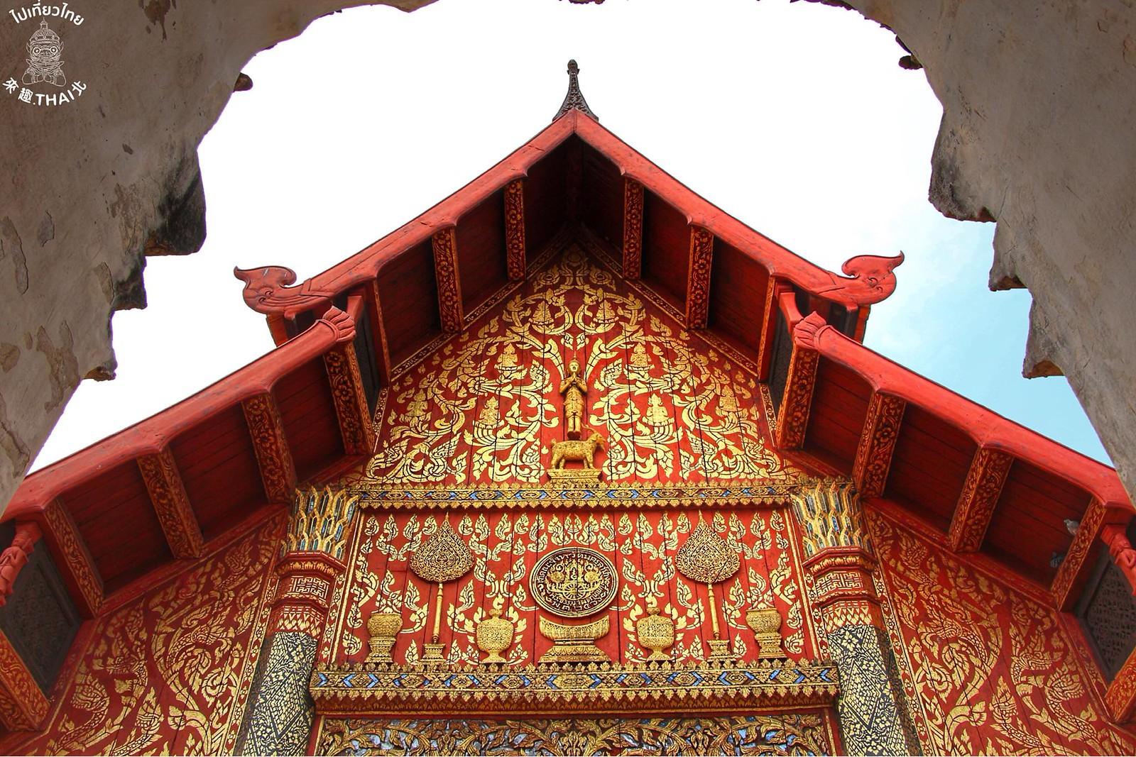 蘭納時期最美麗的木製佛寺-南邦鑾寺