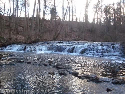 Postcard Falls in Corbett's Glen, Penfield, New York