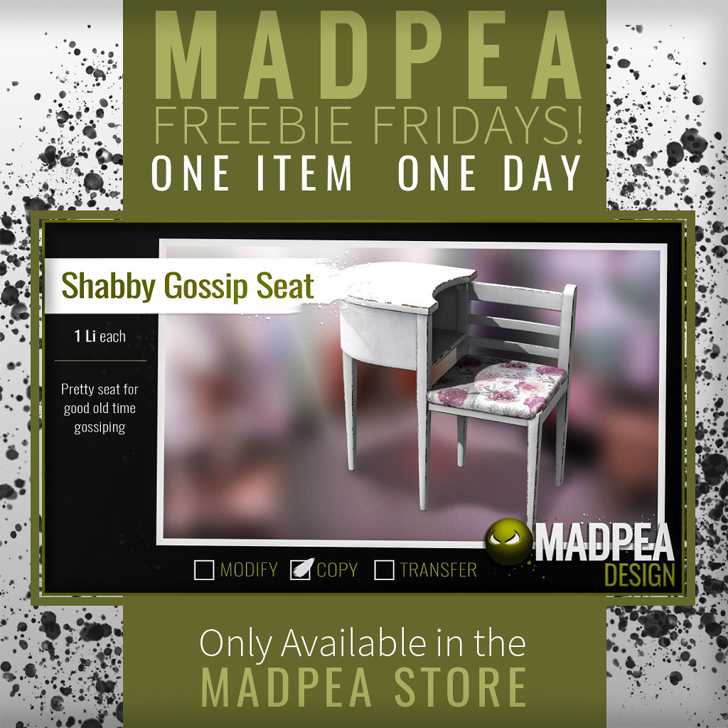 MadPea's Freebie Friday – April 19, 2019!