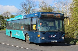 Arriva North East: Scania CN94UB Omnicity (NK05GXN/4658)