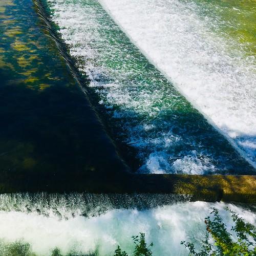 Wasser in der Stadt: Isarwehr | by Florian106