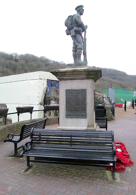 Ironbridge War Memorial from North