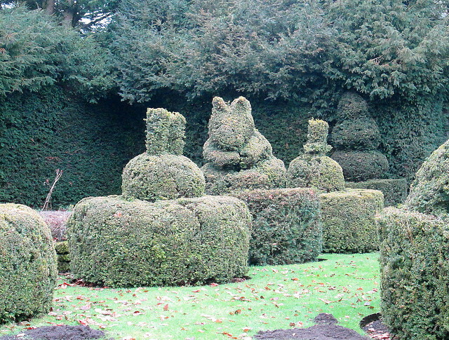 Topiary Animals, Wenlock Priory