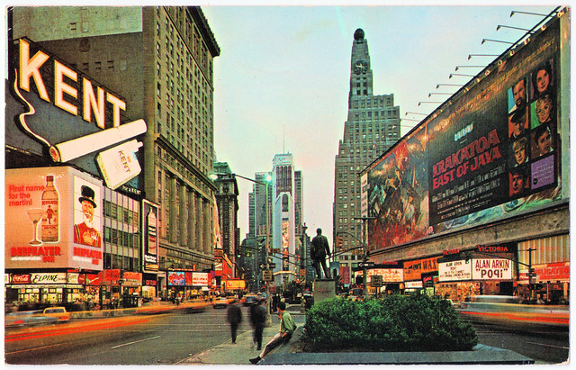 New York City - Times Square in 1969. And The Doors.