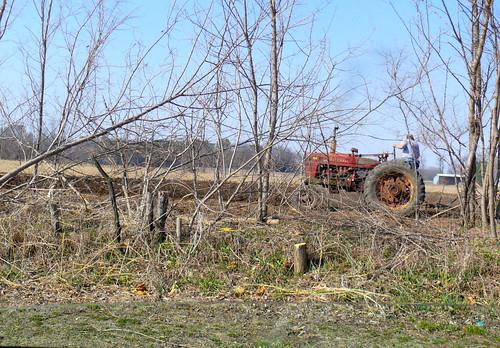 newboston illinois farm tractor rural