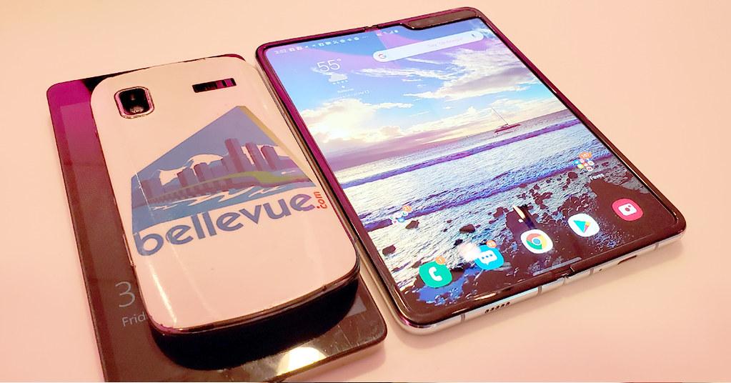 Samsung Galaxy Fold open | Bellevue.com