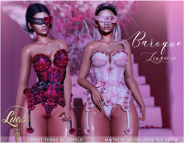 Luas Baroque Lingerie @ Fameshed X