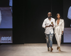 Arise Fashion Week with Naomi Campbell 19-21 April 2019  (Day 1)