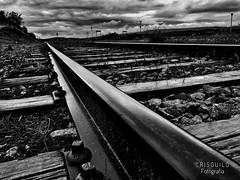 Vias del tren. Andalucia.