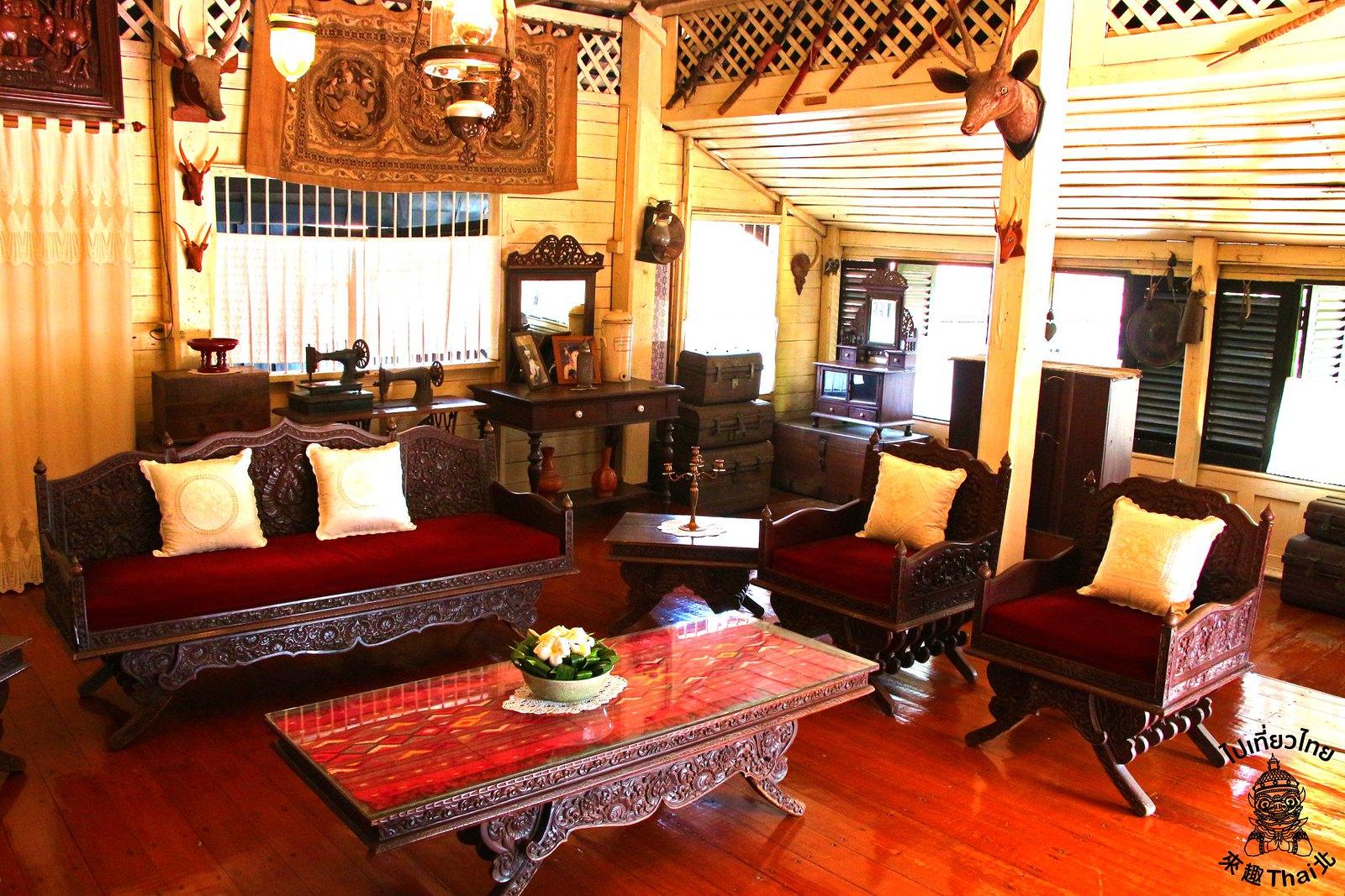 古典泰緬器物博物館-Baan Sao Nak(บ้านเสานัก)