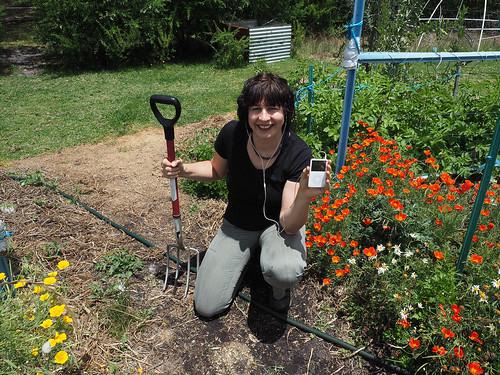 iPod Gardening – Red Moon Sanctuary, Redmond, Western Australia
