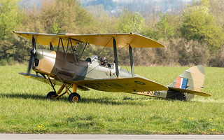 de Havilland DH-82A Tiger Moth G-ALWS / N9328 | by Neil D. Brant