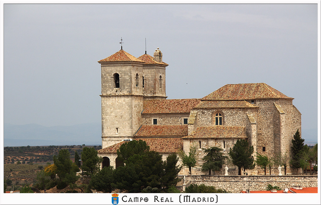 Iglesia parroquial de Campo Real de Madrid