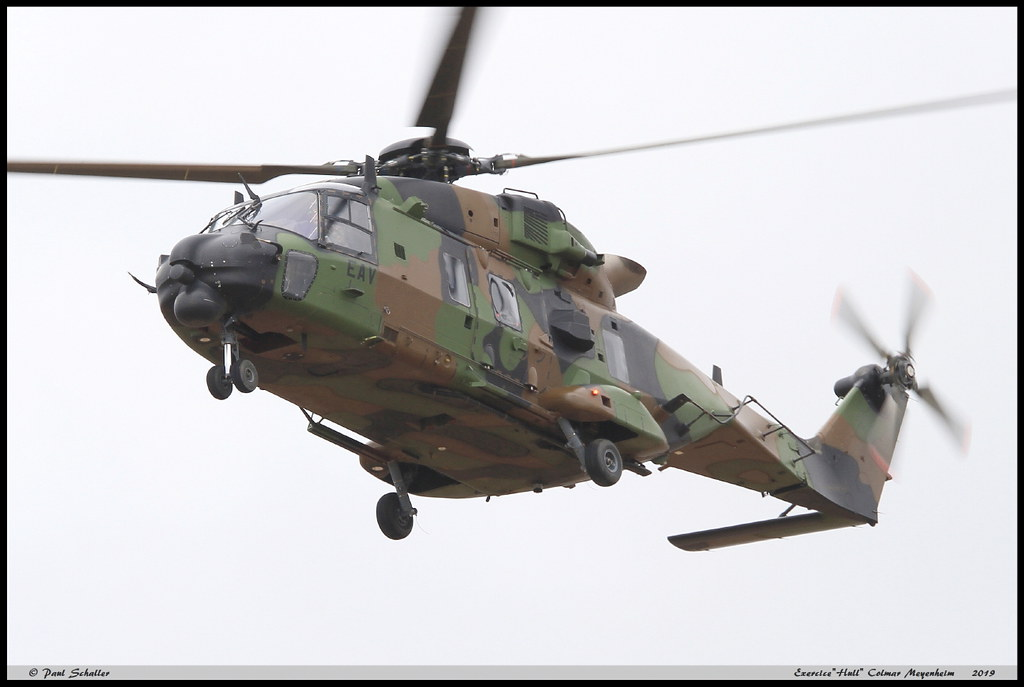 NH90 Caïman TTH EAV 1335 1RHC Colmar Meyenheim Hull avril 2019